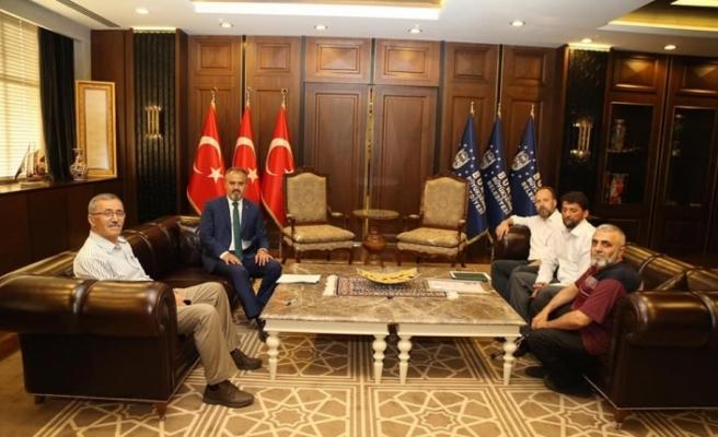 Bursa Emirsultan İYH'den Başkan Aktaş'a ziyaret