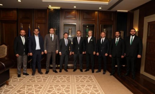 """Başkan Aktaş: """"Bursaspor, Bursa'nın değeridir"""""""