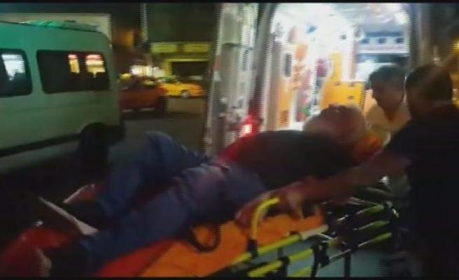 Beyoğlu'nda börekçide 2 kişiye silahlı saldırı: 1 ölü 1 yaralı (1)