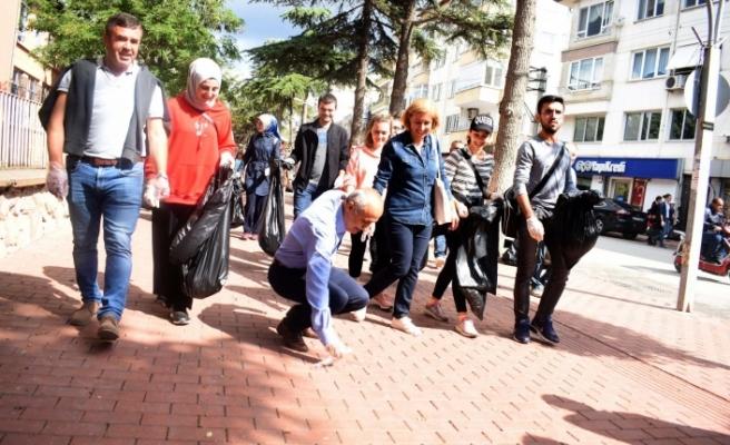 Bursa'da ''Dünya Temizlik Günü'' etkinliği
