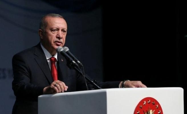 """Cumhurbaşkanı Erdoğan: """"Bu düzenin üzerimize yıkılmasını bekleyemeyiz"""""""