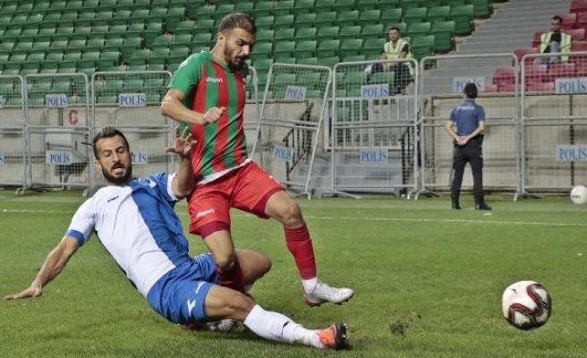 Diyarbekirspor - Malatya Yeşilyurt Belediyespor: 2-0