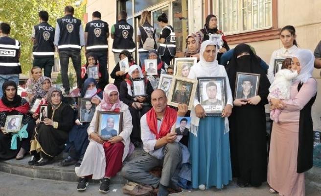HDP önündeki oturma eyleminde 19'uncu gün