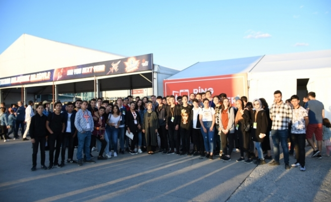 İnegöllü öğrenciler Teknofest'te