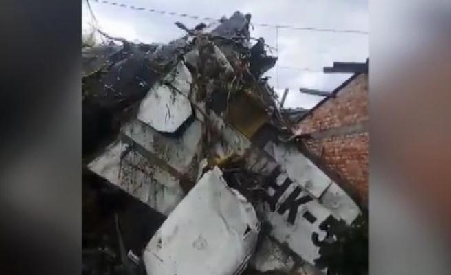 Kolombiya'da uçak kazası:  7 ölü, 3 yaralı