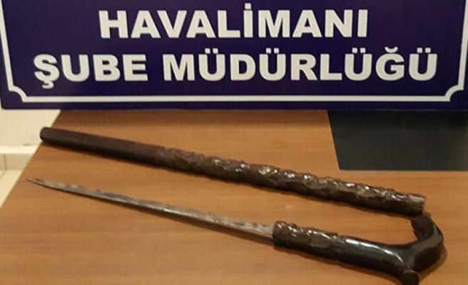 Baston görünümlü kılıç!