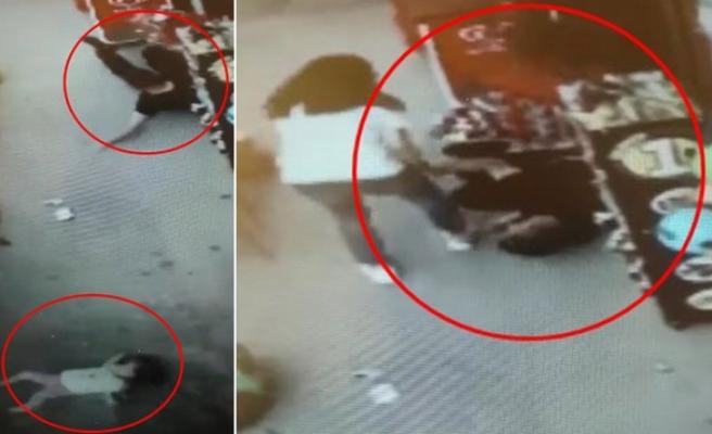 Bursa'da baba ve kıza kamyonet  çarptı