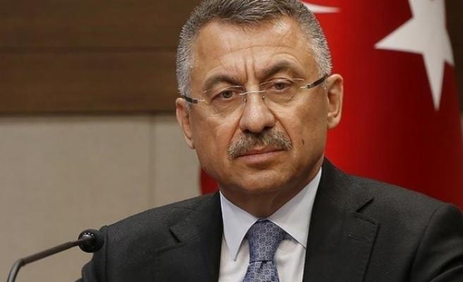 Cumhurbaşkanı Yardımcısı Fuat Oktay'dan Suriye Açıklaması