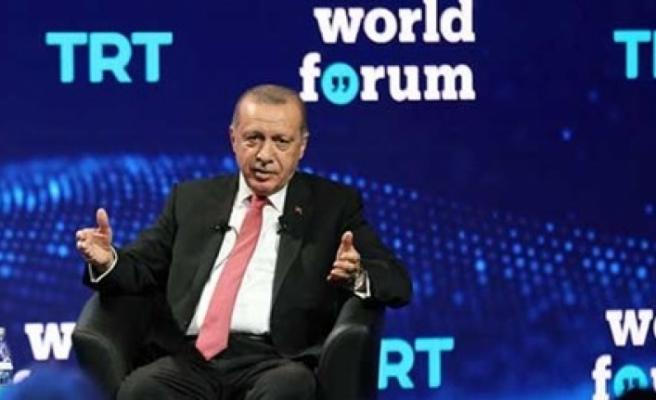 """Erdoğan'dan """"TRT World Forum 2019""""da Açıklamalar"""