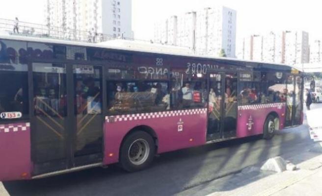 Halk otobüsünde korkunç anlar! Kapıları kilitleyip beklediler