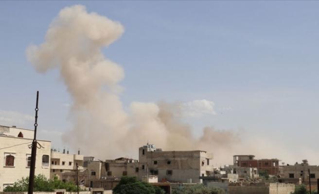 İdlib'e hava saldırıları devam ediyor
