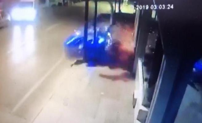 Ölümlü motosiklet kazasının görüntüleri ortaya çıktı