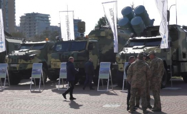 Türk savunma sanayi ürünleri Ukrayna'da görücüye çıktı