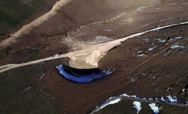 12 bin yıllık Dipsiz Göl'ü kurutanlar ortaya çıktı