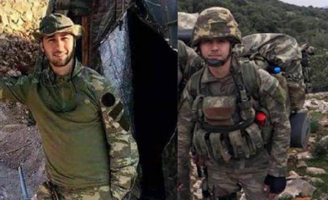 Afrin'de şehitlerin cenazesini kaçıran terörist yakalandı