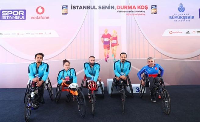 Bağcılar'ın engelli sporcuları ilk 3'te yer aldı