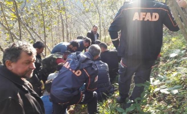 Budama yaptığı fındık bahçesinden uçuruma düşüp öldü/ Ek fotoğraflar