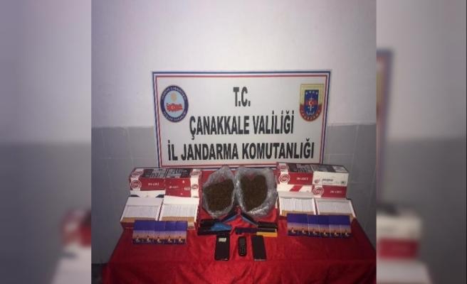 Çanakkale'de uyuşturucu operasyonuna 2 gözaltı