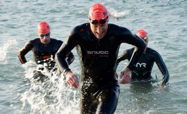 Ironman 70.3 Turkey yarışları başladı