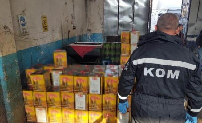 Kayseri'de kaçak akaryakıt operasyonu: 4 gözaltı