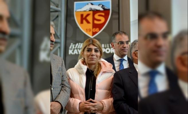 Kayserispor Yönetim Kurulu aldığı karar ile Berna Gözbaşı'yı başkan seçti