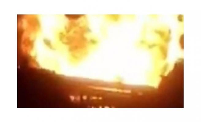 Petrol rafinerisinde patlama