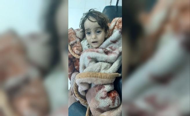 Evsiz bırakılan İman bebek soğuktan donarak öldü
