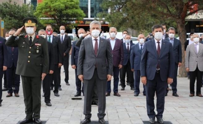 Atatürk'ün Erzincan'a gelişinin 101. yıl dönümü kutlandı