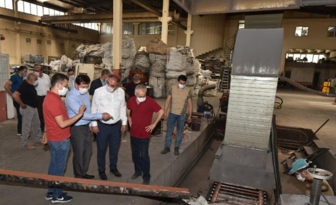 Başkan Kılca'dan sanayi esnafına ziyaret