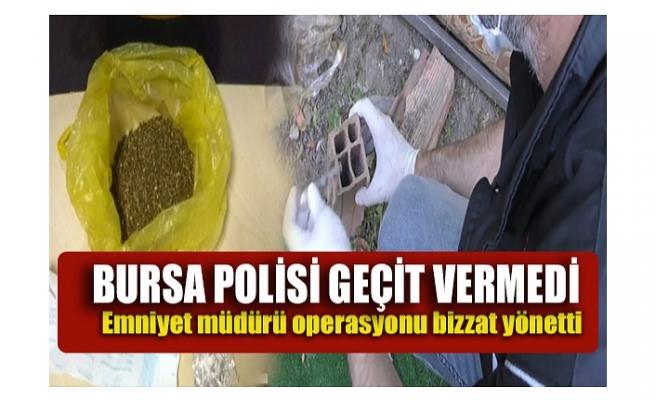 Bursa'da yapılan uyuşturucu operasyonunda 6 kişi gözaltına alındı