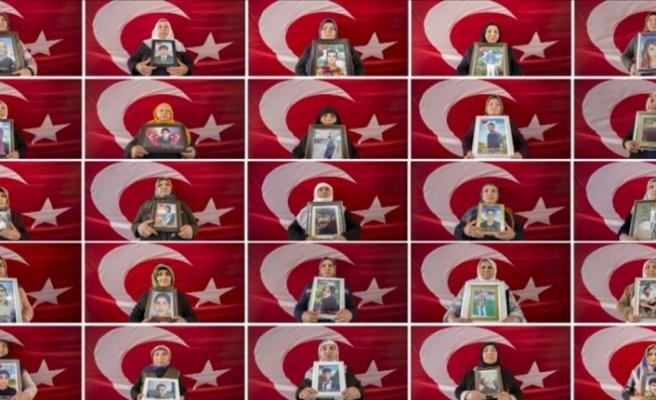 HDP önünde evat nöbeti tutan bir aile daha çocuğuna kavuştu