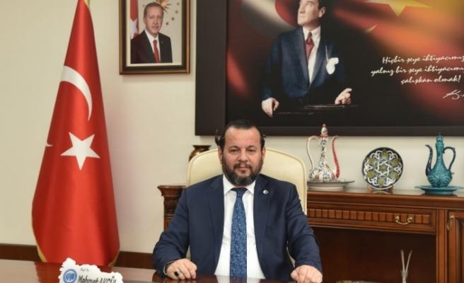 """Rektör Akgül: """"KMÜ'nün dört bayrak alması sevindirici"""""""