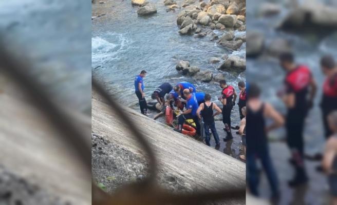 Manzara seyretmek isterken nehre düşüp öldü