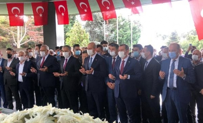 Adnan Menderes, idam edilişinin 59'uncu yılında mezarı başında anıldı