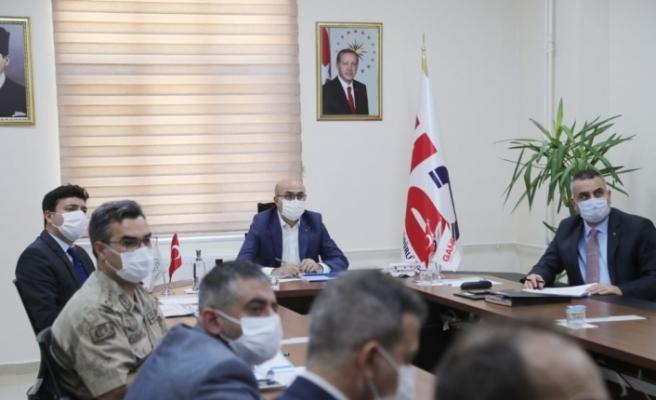 Mardin'de spor güvenlik kurulu toplantısı yapıldı