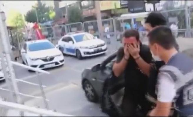 Şişli'de yabancı uyruklu kadını otomobilden atan şüpheli yakalandı