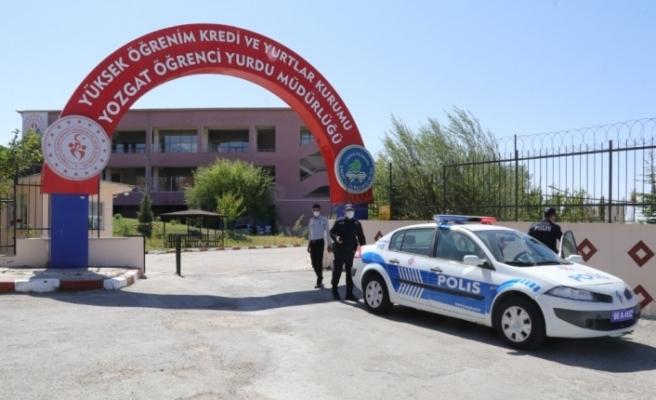 Yozgat'ta karantina kurallarına uymayan 14 kişi yurda yerleştirildi