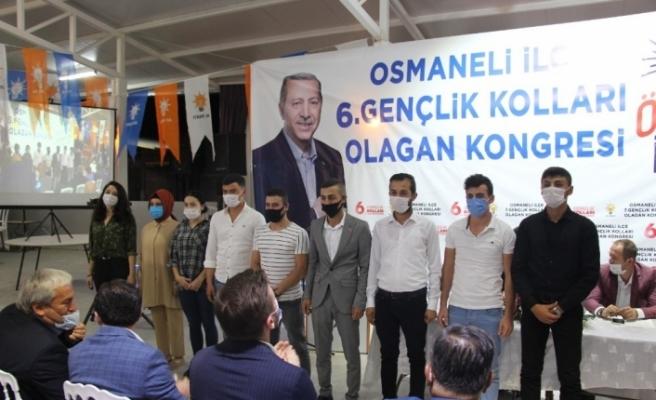 AK Parti Osmaneli İlçe Gençlik Kolları Başkanlık seçimi yapıldı
