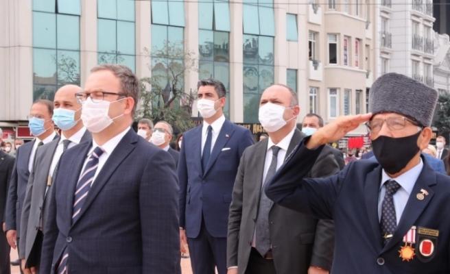 Başkan Gökhan Yüksel İstanbul'un Kurtuluşu'nun 97. yılı törenine katıldı