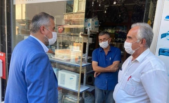 """Başkan Kılıç: """"Bafra'mızı hak ettiği en iyi konuma getirebilme çabasındayız"""""""