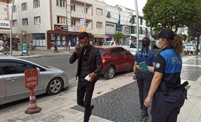 Düzce'de maske takmayan bin 247 kişiye 1 milyon 122 bin 300 lira ceza yazıldı