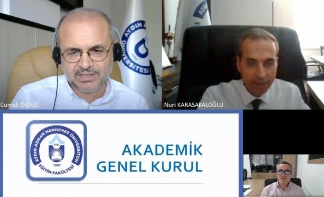 Eğitim Fakültesi akademik genel kurul toplantısı yapıldı