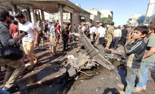 El Bab'da bomba yüklü kamyonla terör saldırısı: 11 ölü - EK FOTOĞRAFLAR