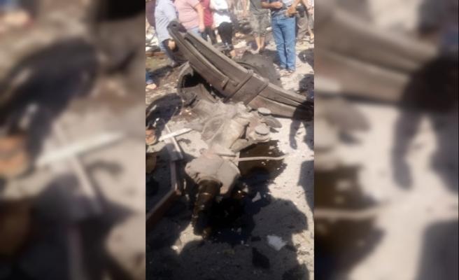 El-Bab'da bomba yüklü araç patladı. En az 7 ölü ve 30'dan fazla yaralının olduğu belirtiliyor.
