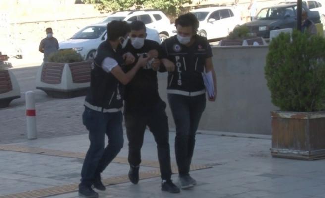 Elazığ'da kokainle yakalanan şüpheli tutuklandı