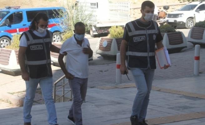 Elazığ'da yakalanan yankesici tutuklandı