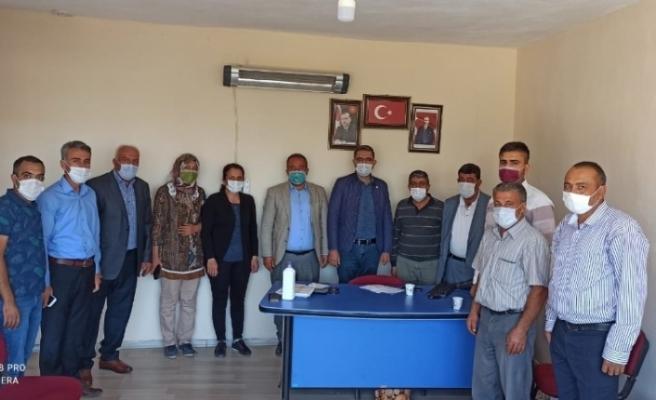 Erdoğan'ı karşılamak için AK Parti Arguvan'da toplantı düzenlendi
