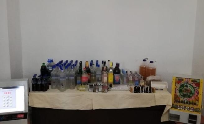 Kaçak içki operasyonları sürüyor