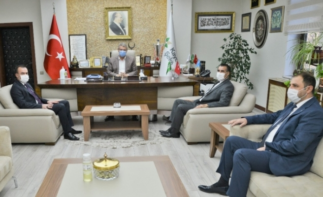 Kayseri SMM Odası'ndan Başkan Akay'a ziyaret