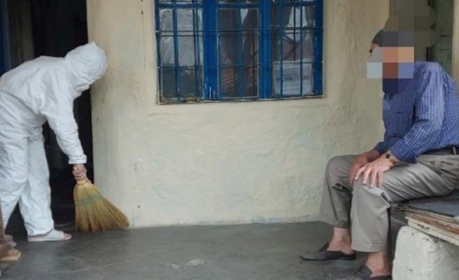 Kırıkkale'de 280 kişinin evi temizlendi